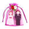 Enfain Wedding Gifts USB Flash Drive 8GB – a Groom Design 8GB & a Bride Design 8GB