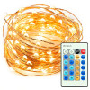 TaoTronics® Dimmable Led String Lights Copper Wire 33ft LED Starry Light with UL certified 5v Power Adapter For Christmas Wedding and Party