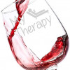 """My Therapy"" Funny Wine Glass – Perfect Birthday Gift for Women – Great Christmas Idea for Her – Fun Unique Present for a Mom, Wife, Girlfriend, Daughter, Sister or Best Friend – Personalized Novelty Drinking Glasses with Sayings for Wedding Day, Big Housewarming Party, White Elephant or Anniversary – Top Gag Gifts From 20 and Under"
