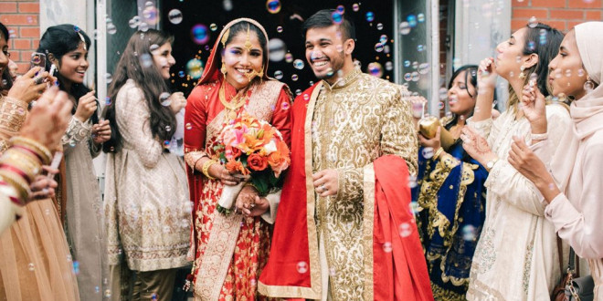 A Colorful Bengali Wedding That Lasted Three Days!