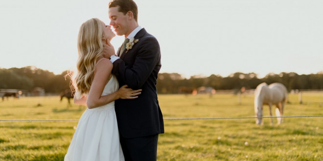 A Thoughtful, Laid-Back Wedding in the Hamptons