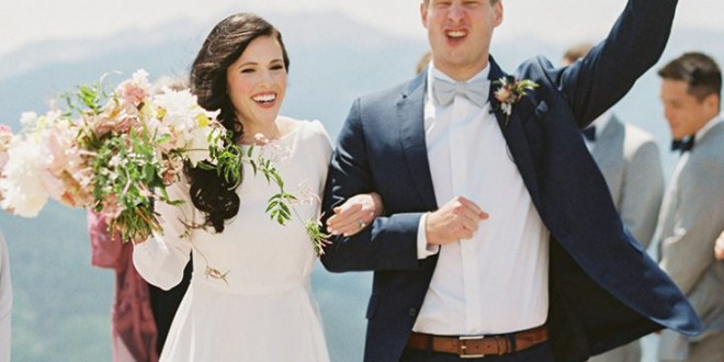 A Wedding Planner's Modern Mountaintop Wedding in Vail, Colorado