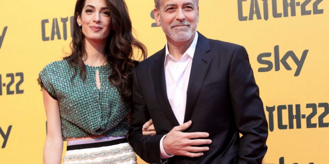 George and Amal Clooney Engage in Rare PDA During Red Carpet Date Night
