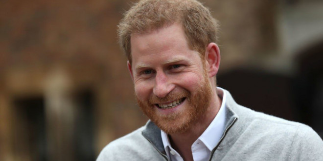 Prince Harry Makes His First Public Statement After Becoming a Dad