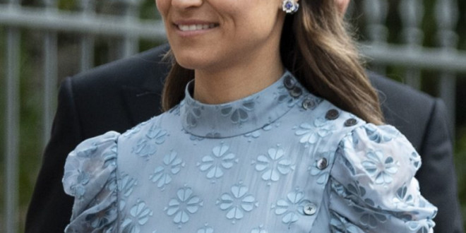 Pippa Middleton Wears Kate Spade Dress to Lady Gabriella of Windsor's Wedding