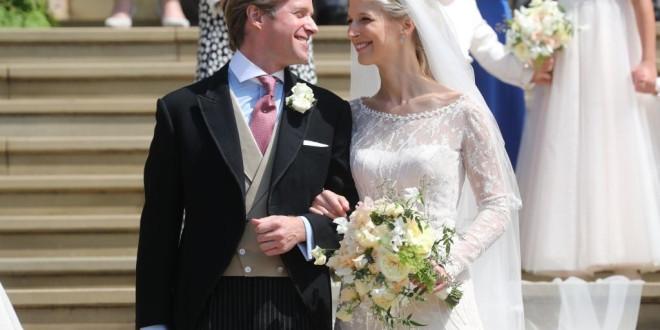 Lady Gabriella Windsor Marries Thomas Kingston During A Royal Wedding