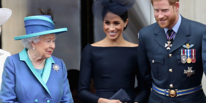 Meghan Markle and Prince Harry Had a Surprise Visit From the Queen at Their New Home