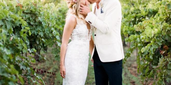 A Boho-Chic Wine Country Wedding