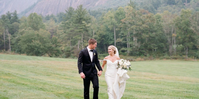 An Elevated Mountain Wedding in Cashiers, North Carolina