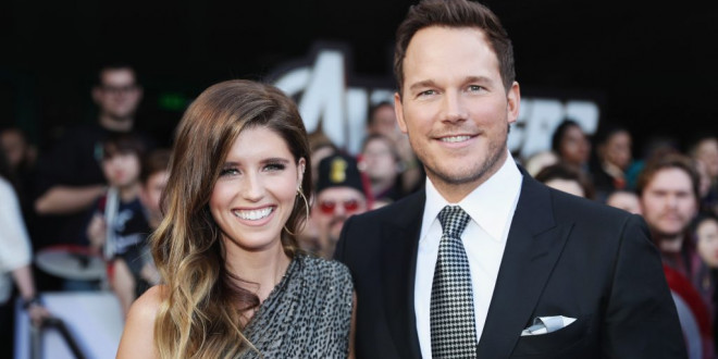 Chris Pratt and Katherine Schwarzenegger Share Their First Wedding Photo