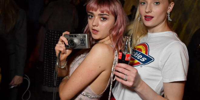 Sophie Turner Is Celebrating Her Bachelorette Party With BFF Maisie Williams in Spain