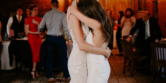 25 Gender-Neutral First Dance Songs Perfect for Same-Sex Weddings