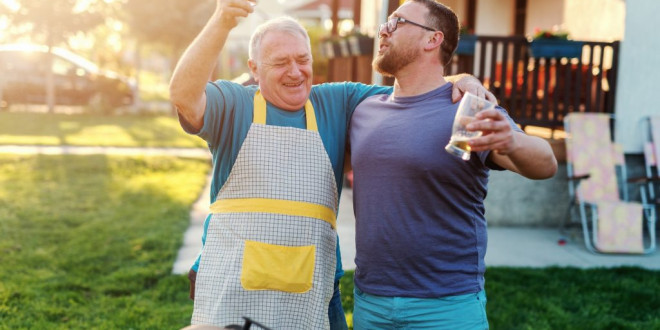 Here's How to Get Your Partner and Dad to Finally Bond