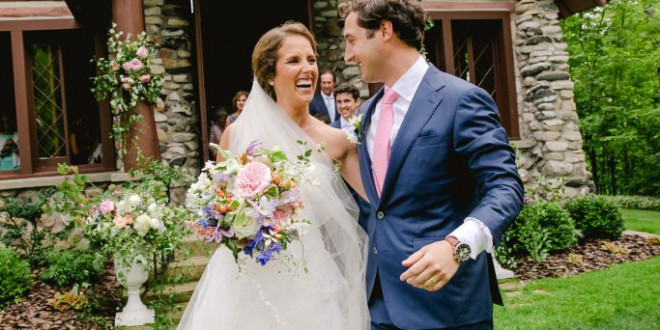 A Dance-Filled Lakeside Wedding in Northern Michigan