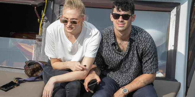 Sophie Turner and Joe Jonas Party by the Pool With Nick Jonas and Priyanka Chopra Ahead of Second Wedding