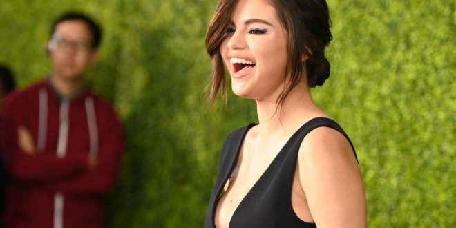 Selena Gomez Wore An Off-The Shoulder-Dress As Maid Of Honor At Her Cousin's Wedding