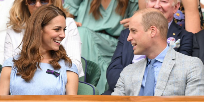 Kate Middleton and Prince William Wore Matching Outfits at Wimbledon