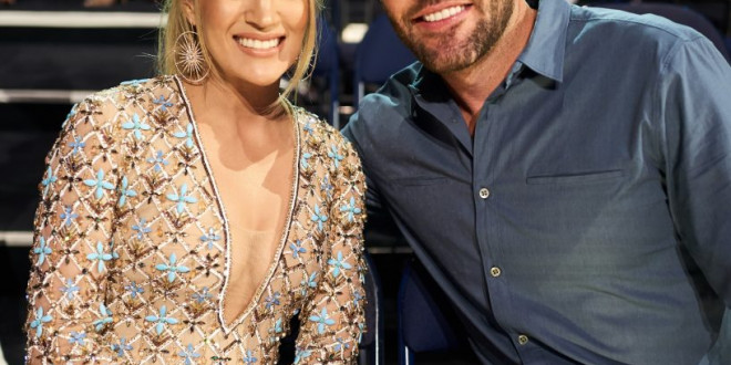 Carrie Underwood's Husband Mike Fisher Posts Adorable Wedding Throwback in Honor of Anniversary