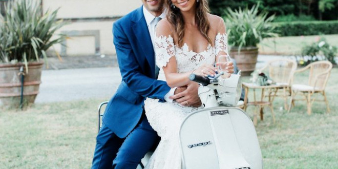 The Clear Cut Founders' Rustic Italian Wedding in Tuscany