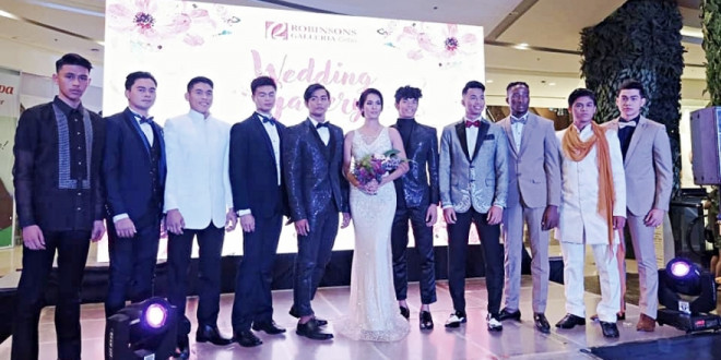 The Wedding Gallery showcased at Robinsons Galleria Cebu on Valentine