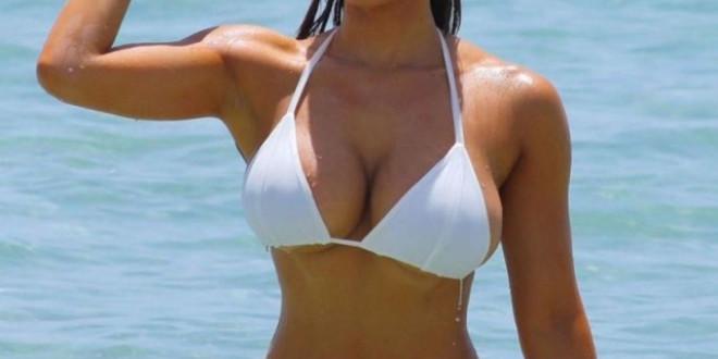 Daphne Joy with bikini