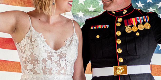 Patriotic Wedding Inspiration Shoot   BridalGuide