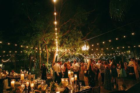 Buffet at a wedding reception